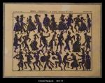 Ombres chinoises : feuille de personnages du grand carnaval de Paris....